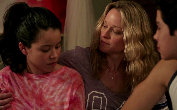 The Fosters -- Screengrab from exclusive EW.com clip.