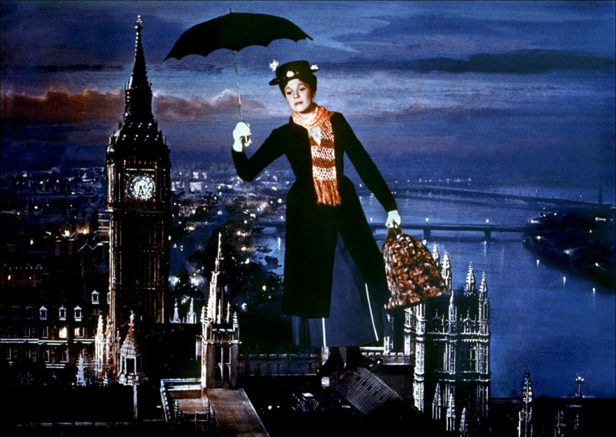 mary poppins tim burton