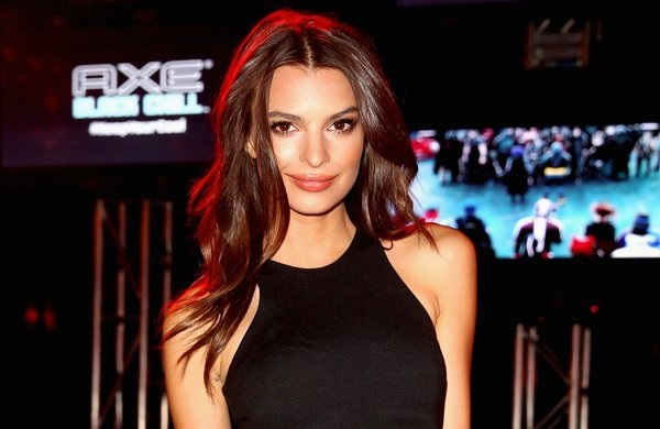 """SAN DIEGO, CA - JULY 19:  Model Emily Ratajkowski attends the Playboy and Universal Pictures' """"Kick-Ass 2"""" event at Comic-Con sponsored by AXE Black Chill on July 19, 2013 in San Diego, California.  (Photo by Joe Scarnici/Getty Images for Playboy)"""