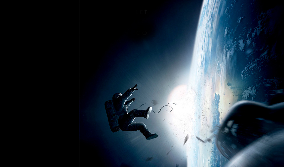 gravity film in sala