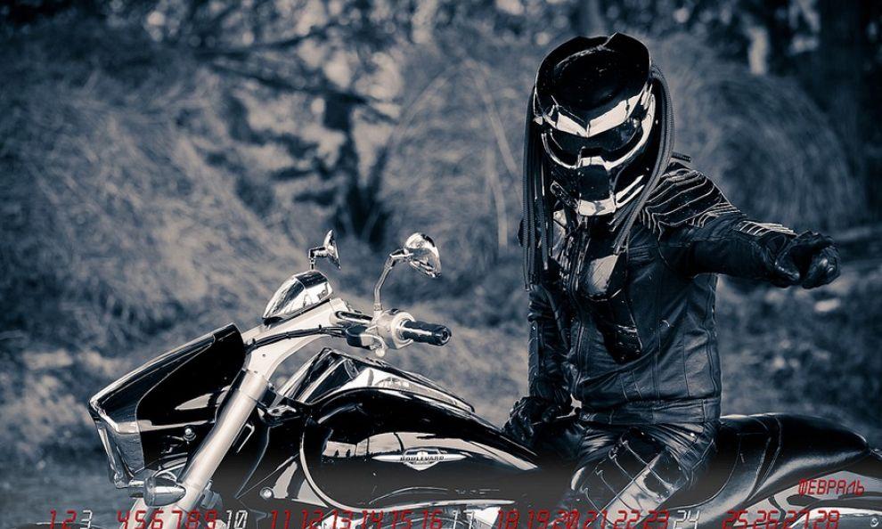 caschi moto predator