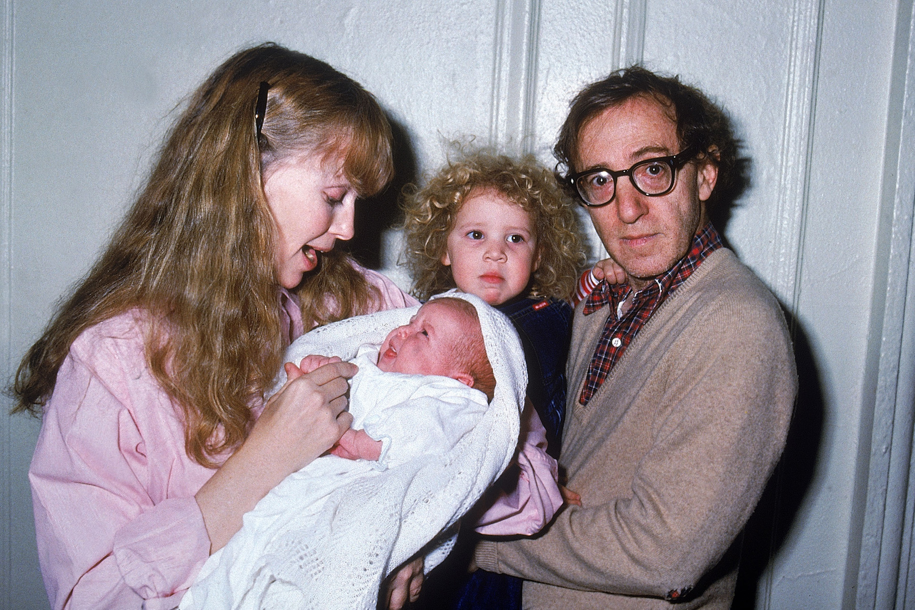 Woody Allen [& Family];Satchel Farrow;Dylan Farrow;Mia Farrow [& Family]