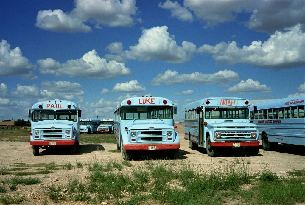 W.Wenders, Joshua and John (behind), Odessa, Texas, 1983