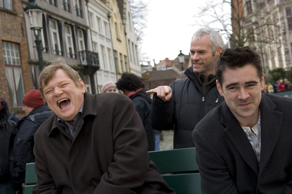 In Bruges movie image Colin Farrell and Brendan Gleeson