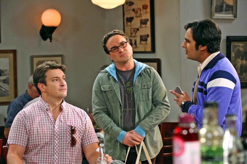The Big Bang Theory Nathan Fillion