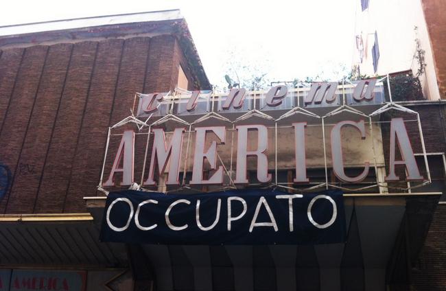 cinema america occupato