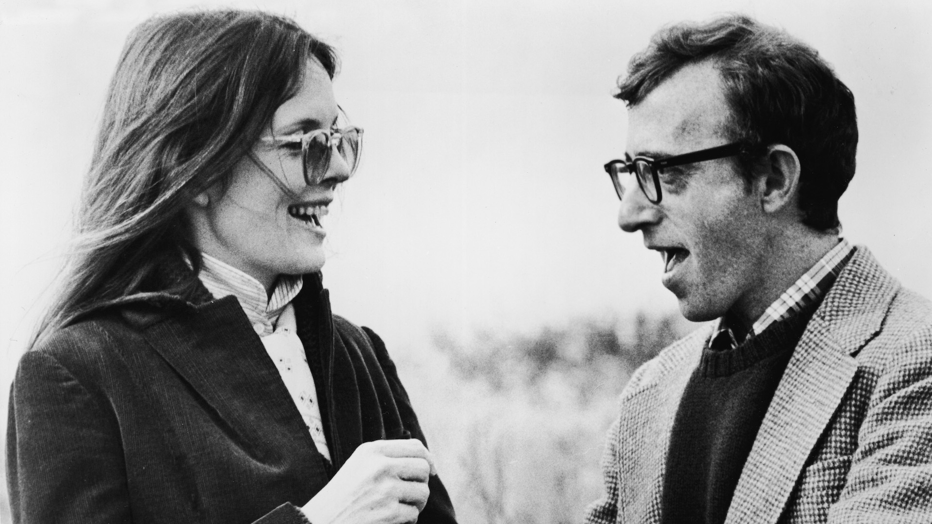 Diane Keaton And Woody Allen In  Annie Hall'