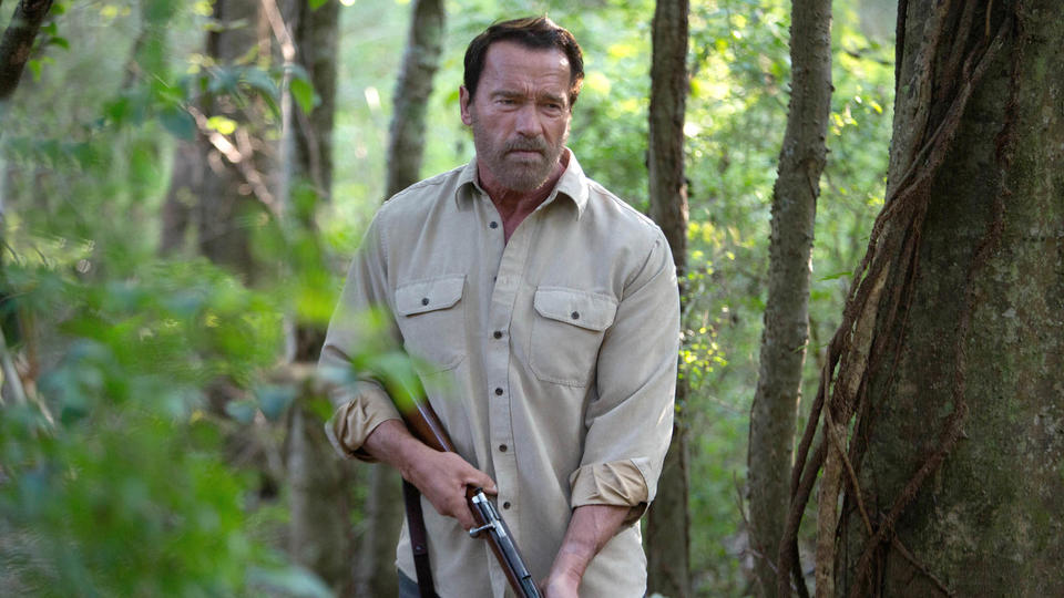 Arnold Schwarzenegger in MAGGIE., from Roadside Attractions press site