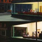 Spiccioli dal cielo e Hopper