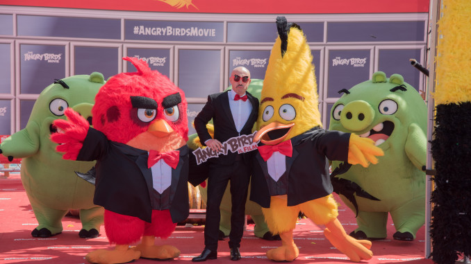 angry birds cannes