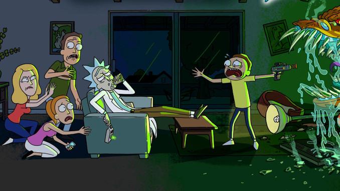 Rick e morty su Netflix
