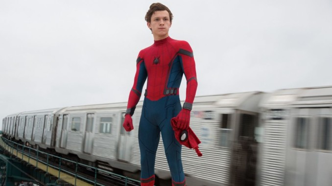 tom holland spiderman homecoming