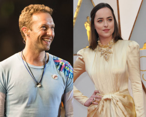 Chris Martin e Dakota Johnson 2