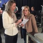 Reese Witherspoon e la regista e sceneggiatrice Hallie Meyers-Shyer