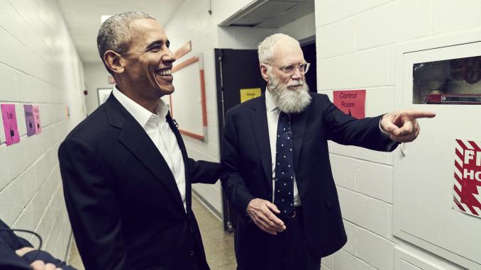 Torna su Netflix David Letterman, il primo ospite è Obama