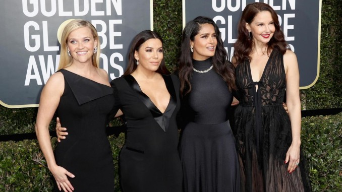 red carpet dei golden globes 2018