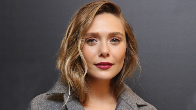 "NEW YORK, NY - AUGUST 02: Actress Elizabeth Olsen attends The Weinstein Company with FIJI, Grey Goose, Lexus and NetJets screening of ""Wind River"" at The Museum of Modern Art on August 2, 2017 in New York City. (Photo by Mireya Acierto/FilmMagic)"