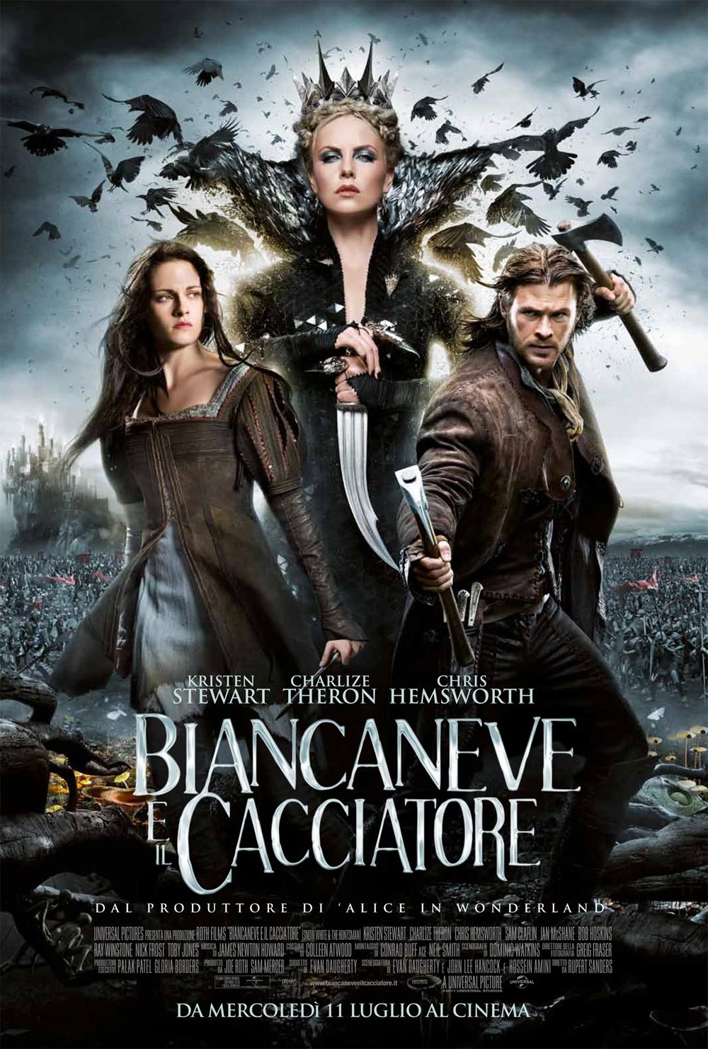 Biancaneve E Il Cacciatore Recensione Film Film 4 Life Curiosi Di Cinema