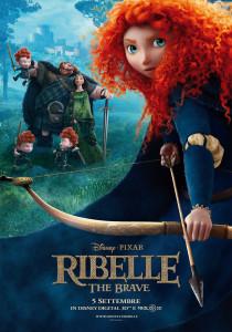 ribelle the brave locandina