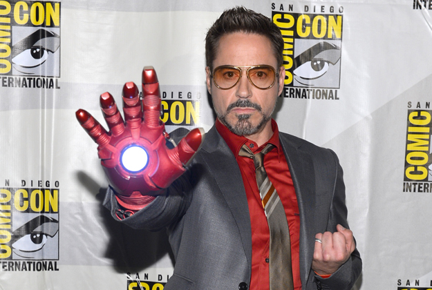 iron man 3 comic con