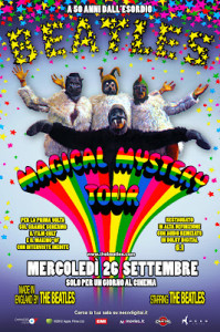 magical mystery tour al cinema