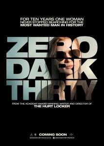 zero dark thirty locandina
