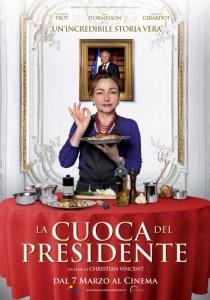 la cuoca del presidente locandina
