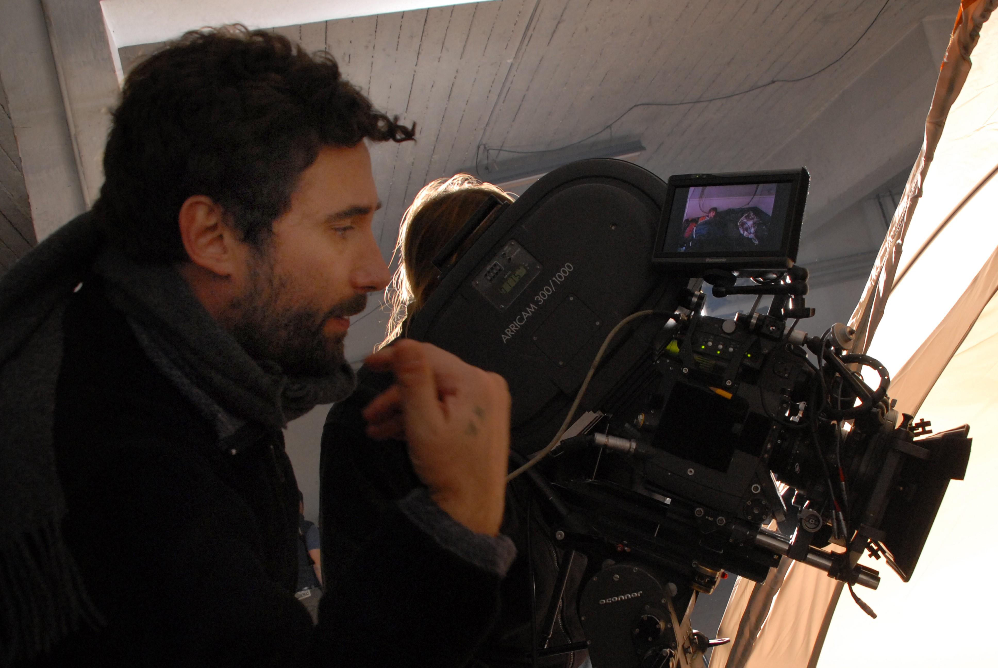 Federico Zampaglione on the set of SHADOW(1)