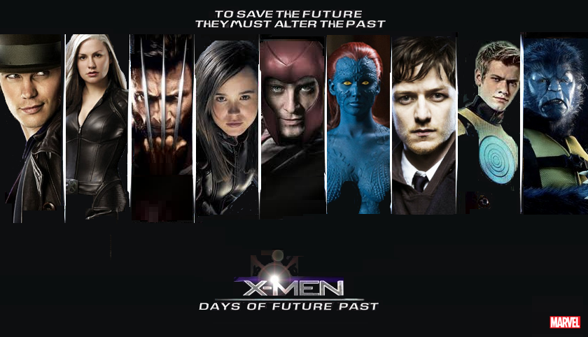 x-men days of a future past panel