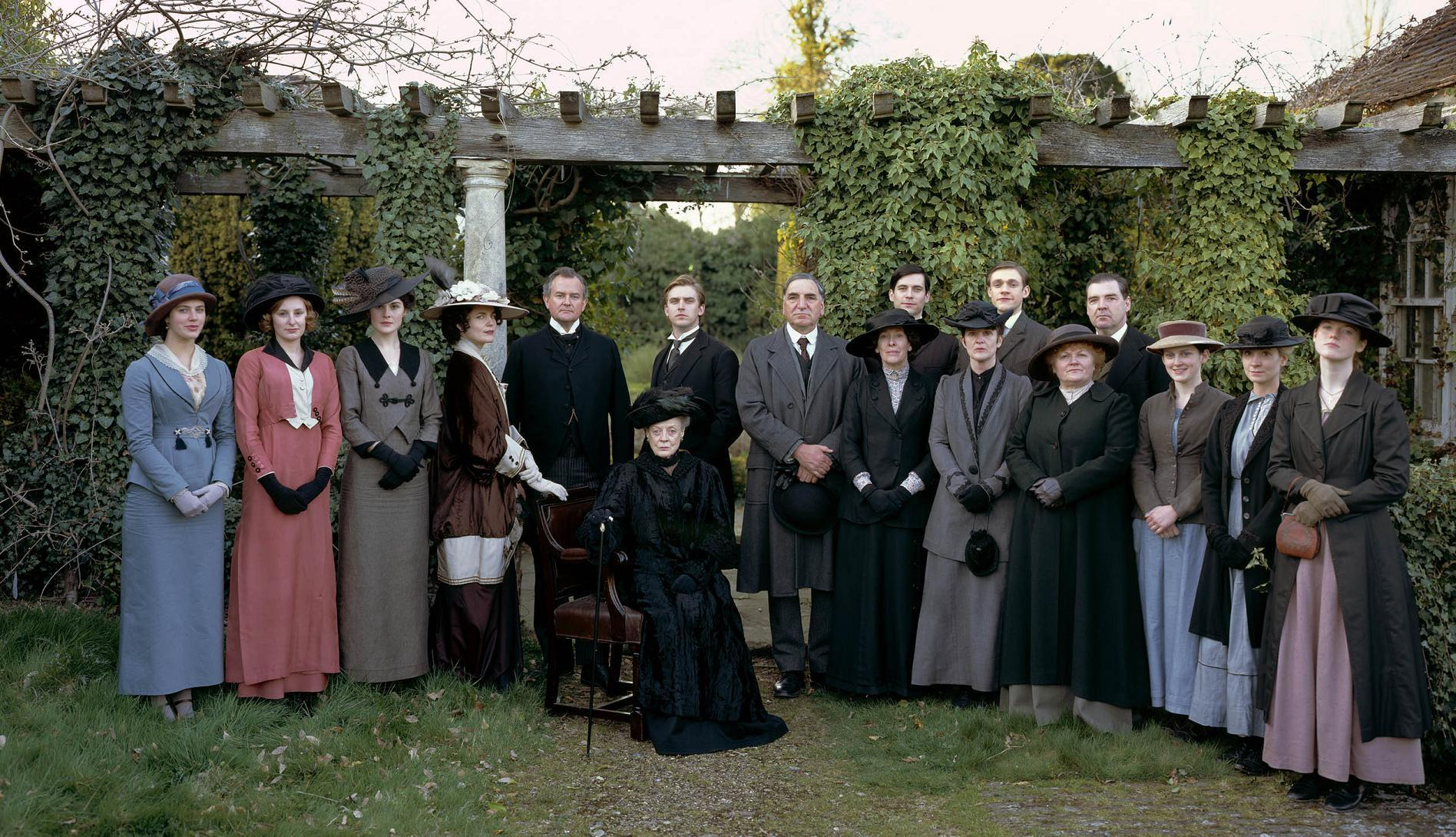 DOWNTON ABBEY SERIE TV