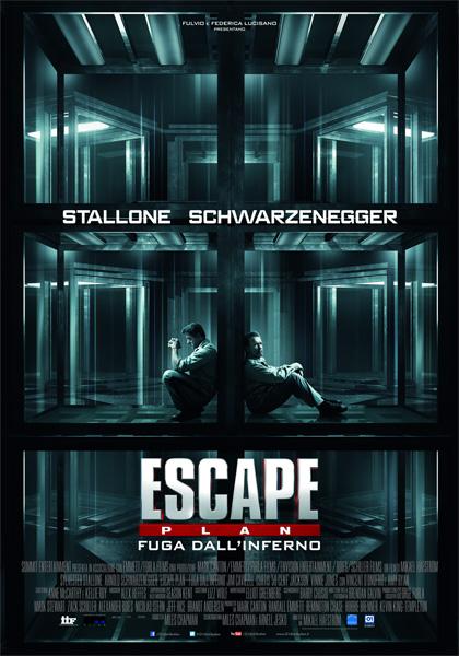 locandina escape plan