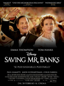 Saving Mr Banks Locandina