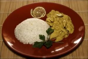 Tacchino al curry