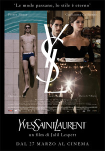 yves saint laurent locandina film