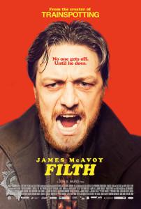 filth locandina film
