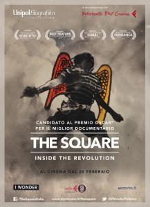 the square inside the revolution locandina film