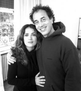 Matteo Garrone e Salma Hayek