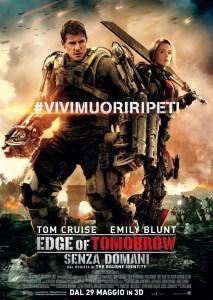 edge of tomorrow senza domani locandina film