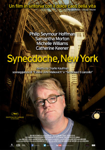 synecdoche new york locandina film