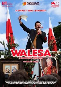 walesa, l'uomo della speranza locandina film