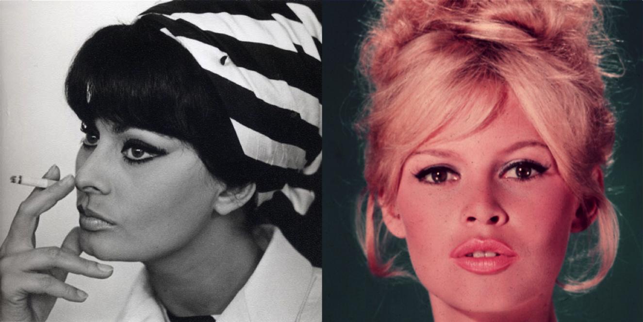 Brigitte Bardot Sophia Loren