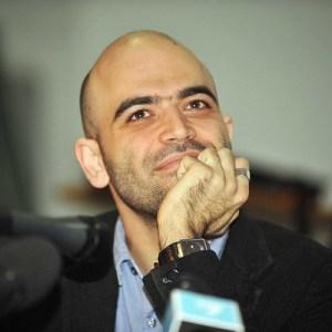 MILANO - ROBERTO SAVIANO PREMIATO ALL ACCADEMIA DI BRERA ALLA PRESENZA DI DARIO FO