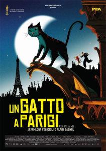 Un gatto a Parigi locandina