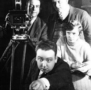 Alfred Hitchcock e Alma Reville