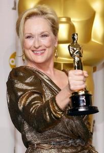 Meryl Streep agli Oscar