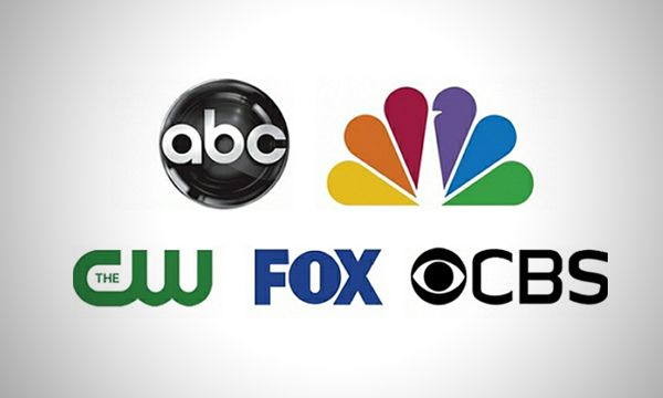 cbs abc nbc cw fox