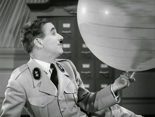 Chaplin in Il grande dittatore