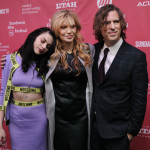 Francis, Courtney Love e il regista Brett Morgen al Sundance