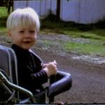 Kurt Cobain da bambino
