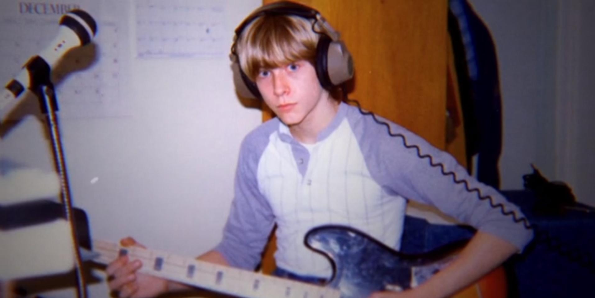 Kurt Cobain da ragazzo